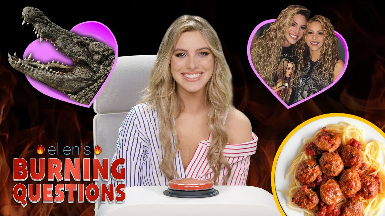 YouTuber & Singer Lele Pons Tells All in Ellen's 'Burning Questions'