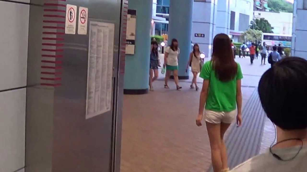 坑口港鐵站 to 11M小巴站 - YouTube