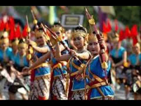 semarang central java indonesia and famaous tourist attractions as well as the dance