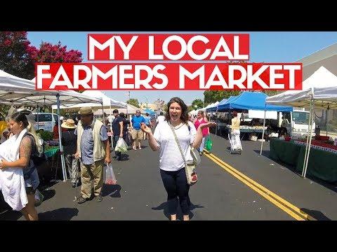 HAYWARD FARMERS MARKET HAUL + FOLLOW ME AROUND