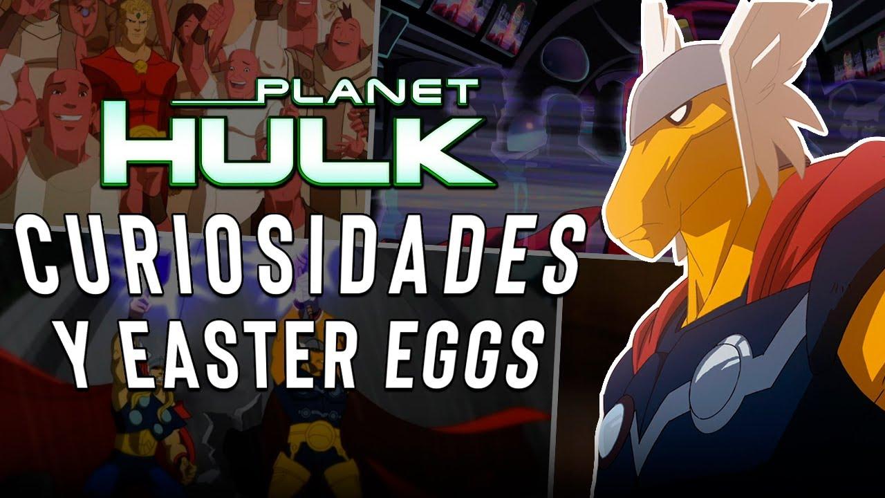 Download 10 Curiosidades y Easter Eggs de 'PLANET HULK' (2010)