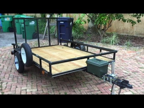 Carry-on 5x8 trailer Modifications!