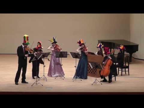 J.S.Bach : Brandenburg Concerto No. 6, BWV 1051 3rd mov. arranged by Grigori Korchmar