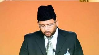 Tilawat Holy Quran, Surah Al-Nur (v. 55-57) with Urdu translation, Jalsa Salana UK 2011