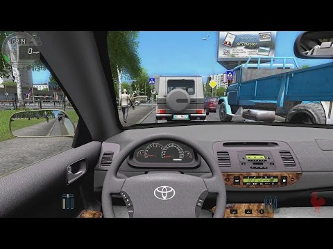 city car driving toyota camry v30 game download