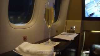 Etihad First Class on the B777-300ER : Abu Dhabi to Melbourne EY460