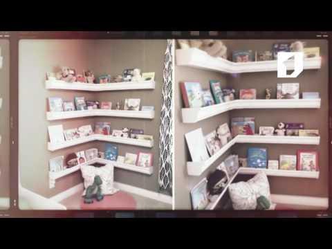 видео: Красиво и содержательно: книжные полки своими руками