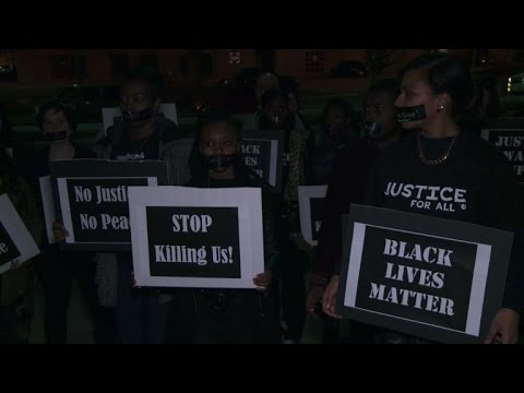 Two arrested as Ferguson protests move to St Louis