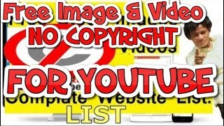Best Free Image & Video Downloading Website Free use for Youtube (Hindi)