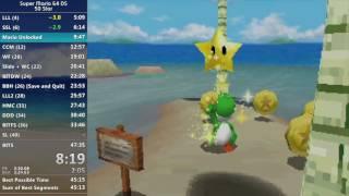 [World Record] Super Mario 64 DS 50 Star in 46:22
