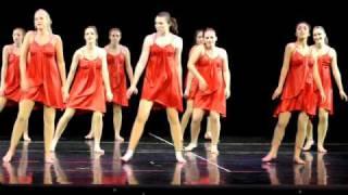 Ginny Martin Modern dance recital June 2010  Final Dance and curtin call