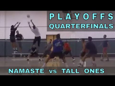 PLAYOFFS - Namaste vs Tall Ones (FULL GAME 9/7/17) - IVL Men's Open Volleyball