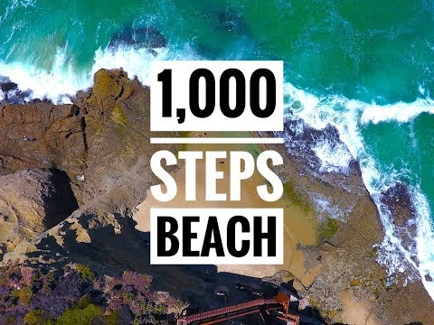 California Travels: Laguna Beach & 1000 Steps Beach - DJI Phantom Drone GoPro