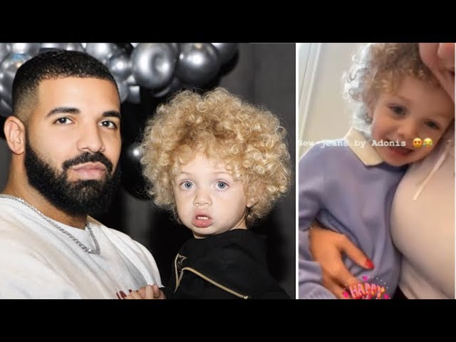 See Drake's Son Adonis Graham Smiles & Makes Adorable Artwork for His Mom On Mother's Day