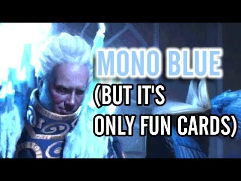 Mtg Deck Tech: Mono Blue, But Just the Most Fun Cards (ELD Standard)