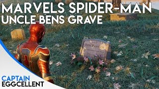 Marvels Spider-Man PS4 - How To Find Uncle Bens Grave (Easter Egg)