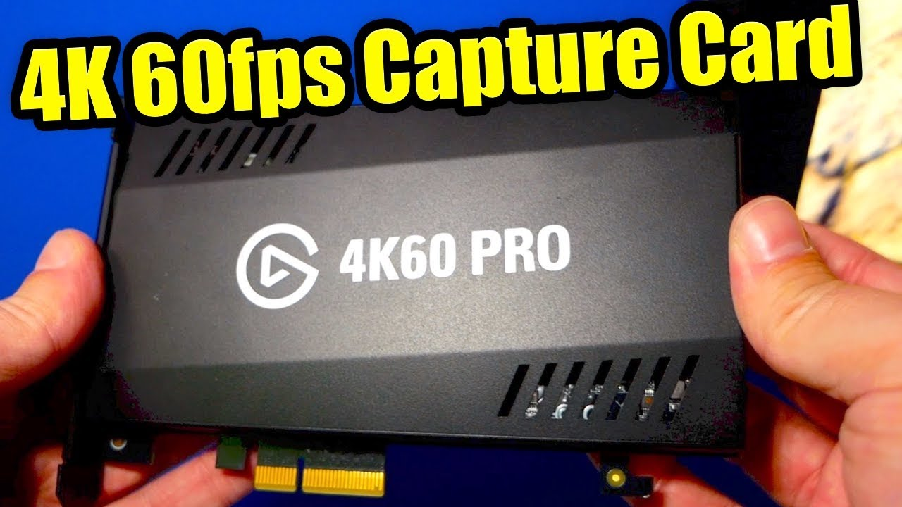 4K Capture Card, Best Webcam EVER & Easy GreenScreen… Elgato