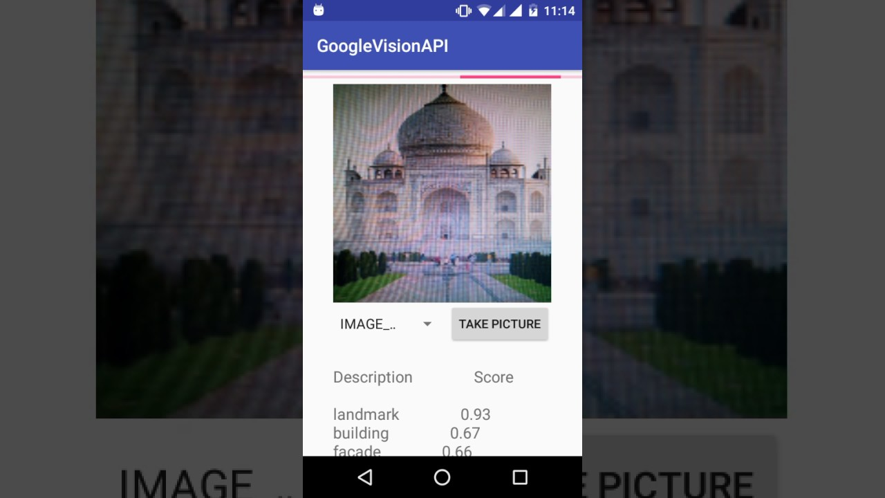 Google Cloud Vision API in Android APP - knowledge Transfer