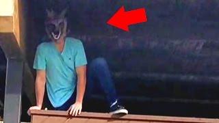 Werewolf Caught on Tape at Park