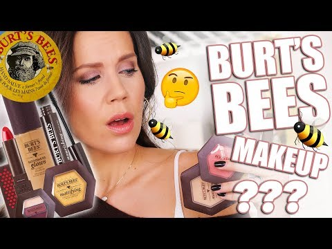BURTS BEES MAKEUP? Full Day Wear Test!!!