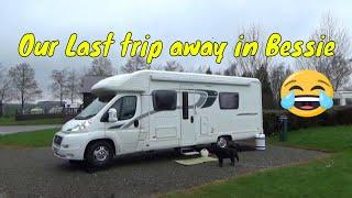 Our Last trip away in Bessie to The Firs Caravan & Motorhome club site