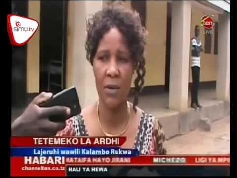 Tetemeko La Ardhi Lajeruhi Wawili Kalambo