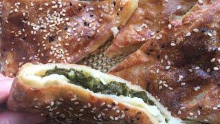 Zarf börek tarifi! Турецкие конверт-бёреки! Очень вкусно и просто!