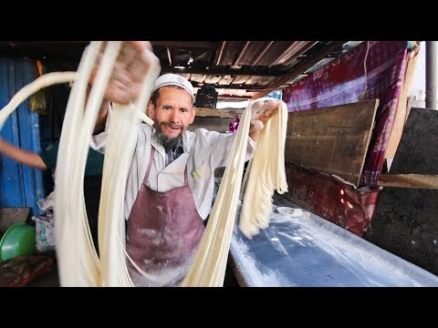 Incredibly RARE Muslim Street Food in DEEP China | SILK ROAD