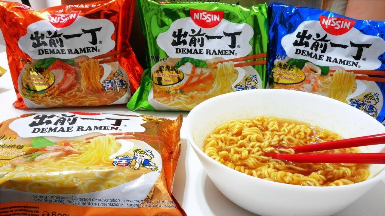 """Japoński """"RAMEN"""" z proszku? TEST ze świata"""