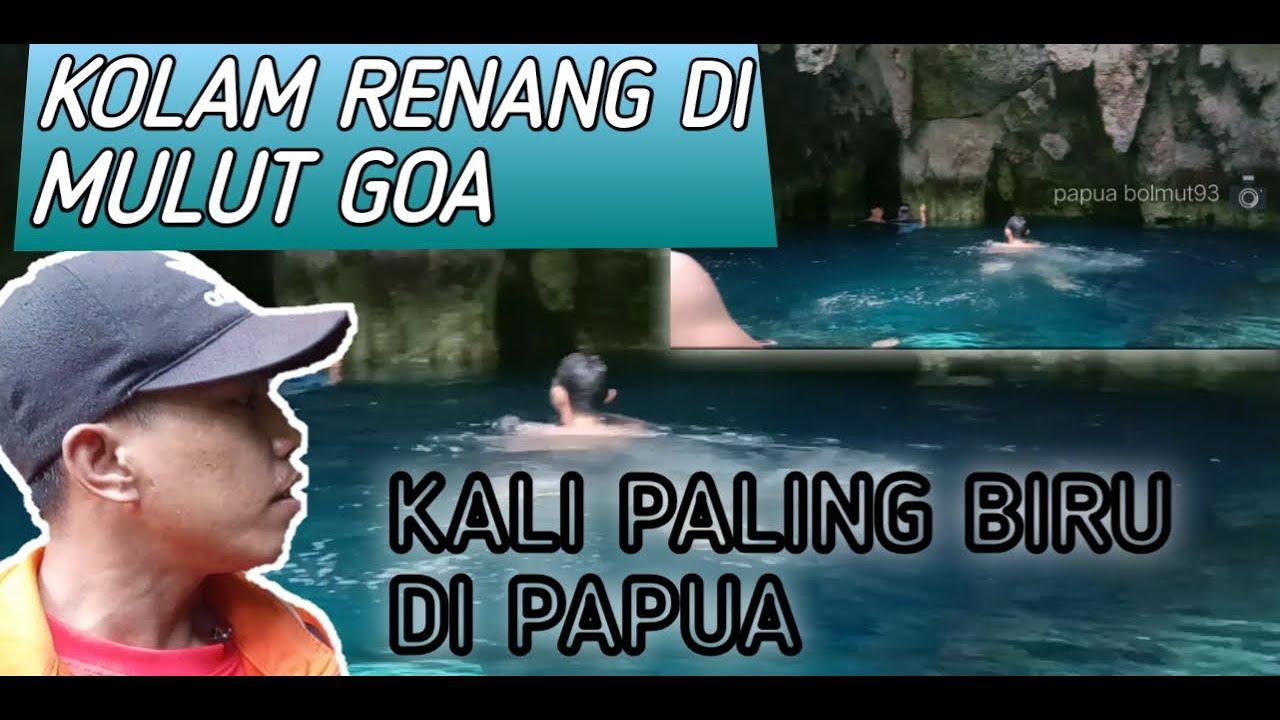 KALI PALING BIRU DI PAPUA||KALI BIRU BIAK NUMFOR