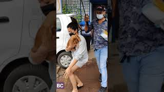 Rashmika Mandanna Spotted at Andheri