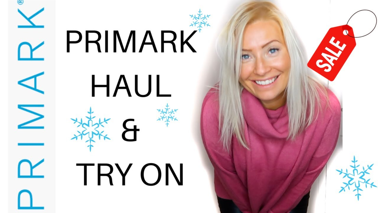 [VIDEO] - NEW!! DECEMBER PRIMARK TRY ON HAUL! | 2019 WINTER FASHION | NEW IN & SALE | VLOGMAS #2 2