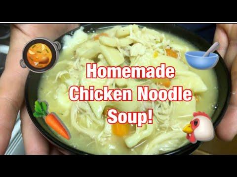 Homemade Mashed Potatoes W/ Homemade Chicken Noodle Soup   Jakolyndeziray