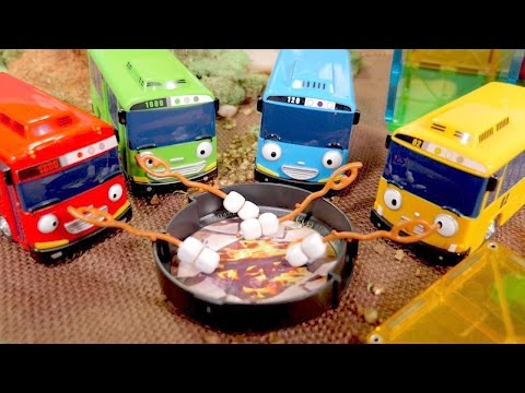 Tayo The Little Bus Toys - Tow Trucks For Kids - Tayo Toys - Buses And Trucks For Kids