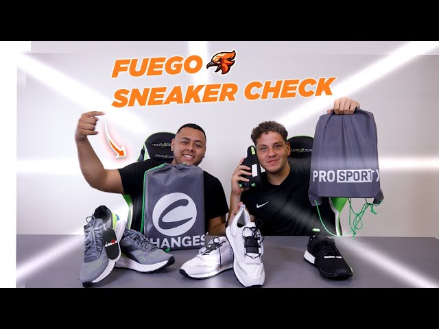 They sent us the BEST Sneakers and we reviewed them! (Fuego Sneaker Check Ep. 1)