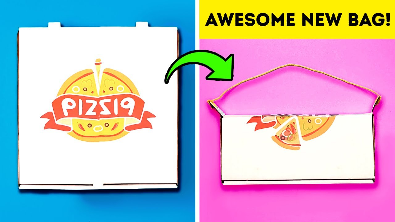 25+ LOVELY CRAFTS WITH PIZZA BOXES