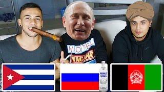 Afghane vs. Russe vs. Cubaner   Sprachen-Challenge