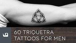 60 Triquetra Tattoos For Men