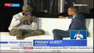 Musical star Nameless on Friday Briefing