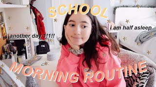 my school morning routine as a sophomore ⛅️