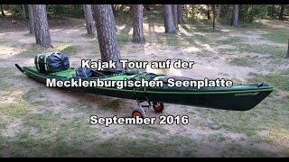 Kajak - Kajak Tour Müritz und Mecklenburgische Seenplatte