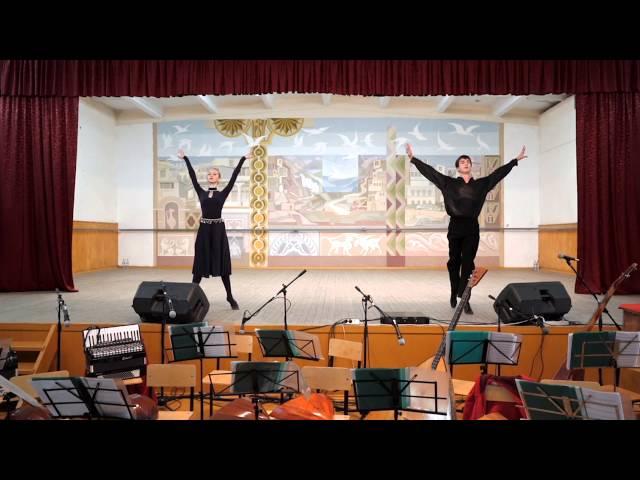 Ученики хореографа Мусы Оздоева. Дагестанский колледж культуры и искусств
