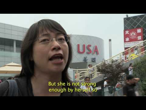 USA Pavilion Expo 2010 Shanghai Video-Visitor Interviews