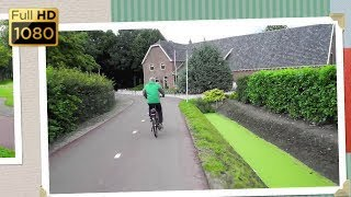 Bicycle Town - Houten, The Netherlands (1080p HD)