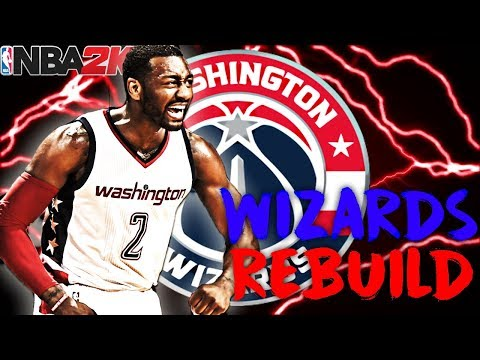 BEST BIG 3 IN THE NBA!?!? REBUILDING THE WASHINGTON WIZARDS!! NBA 2K18 MY LEAGUE