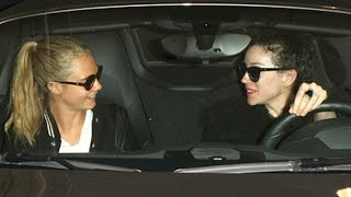 Cara Delevingne Picked Up By Rumored Fiance St Vincent