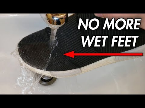 How To Waterproof Your Shoes? Nikwax DWR Spray Review!