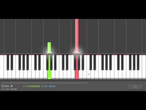 Piano Tutorial: Nine Inch Nails - The Frail (live)