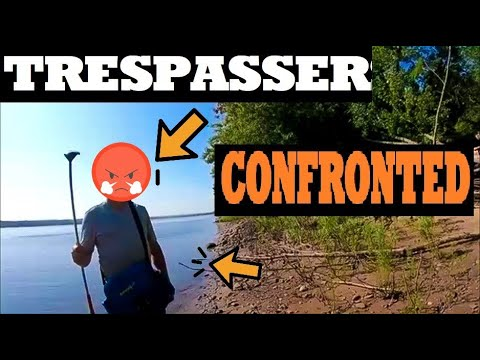 Download Trespassers Confronted - Guy THREATEN Me (Cops Called)