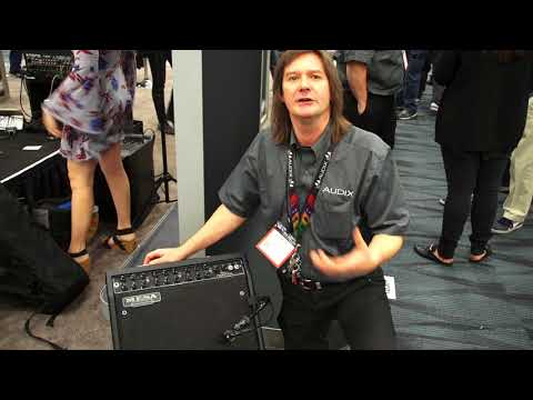 NAMM 2018 - Audix Microphones